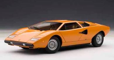オートアート 74647 1/18 AUTOART ランボルギーニ カウンタック LP400 (オレンジ)  LAMBORGHINI