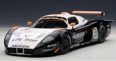 オートアート 81036 1/18 マセラティ MC12 FIA GT1 2010 #33 (ヘーガースポーツ/ヘーガー&ミュラー)