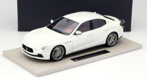 TOPMARQUES TOP08 1/18  マセラティ ギブリ Maserati Ghibli 2013 ホワイト