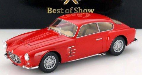 BoS Models BOS063 1/18  マセラティ A6G 2000 Zagato 1956 レッド ドア、フード開閉不可