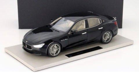 TOPMARQUES TOP08 1/18  マセラティ ギブリ Maserati Ghibli 2013 ブラック メタリック