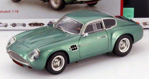CMC M-132 1/18  アストンマーチン DB4 GT ザガート (1961) メタリックグリーン