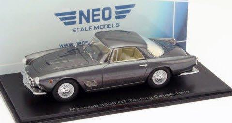 NEO NEO45911 1/43 マセラティ 3500 GT ツーリング 1962 シルバー