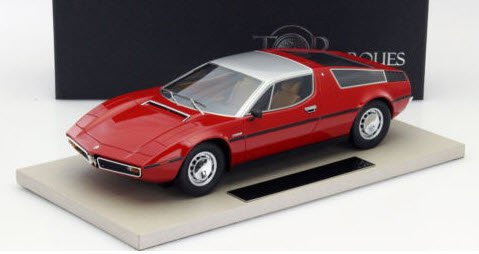 TOPMARQUES TOP025A 1/18 マセラティ ボーラ 1977 (レッド)