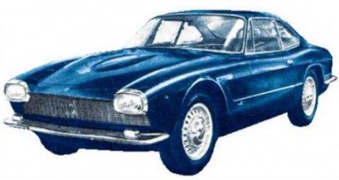 KESS ケス KE43014071 1/43 マセラティ 5000 GT ベルトーネ 1961 メタリックブルー (2 フロントライト)