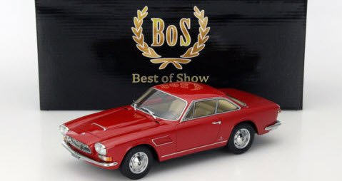 BoS Models BOS085 1/18 マセラティ セブリング II 1966 ダークレッド