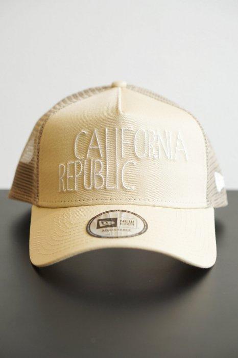 """NEW ERA ニューエラ """"9FORTY A-Frame トラッカー カリフォルニア リパブリック ベガスゴールド"""""""