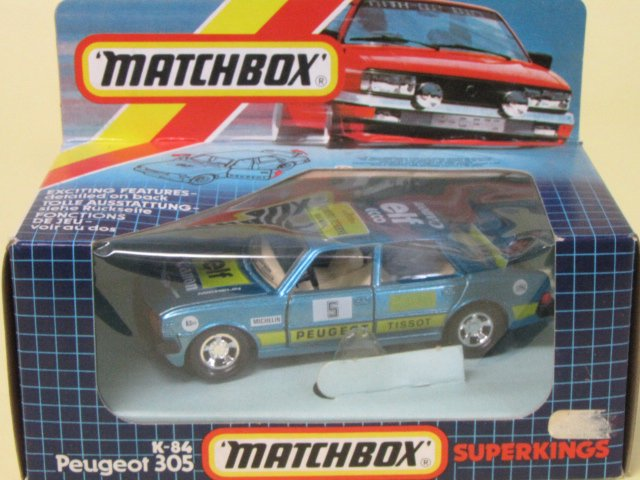 MATCHBOX SUPERKING PEUGEOT 305 箱付 1/33 イギリス製