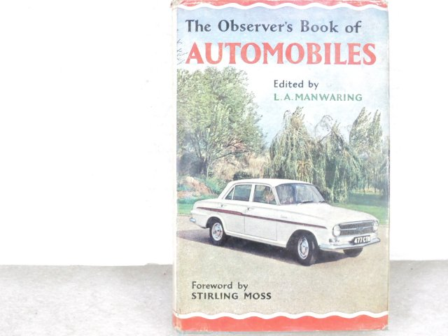 洋書 The Observer's Book of AUTOMOBILES イギリス 8th ed 1962