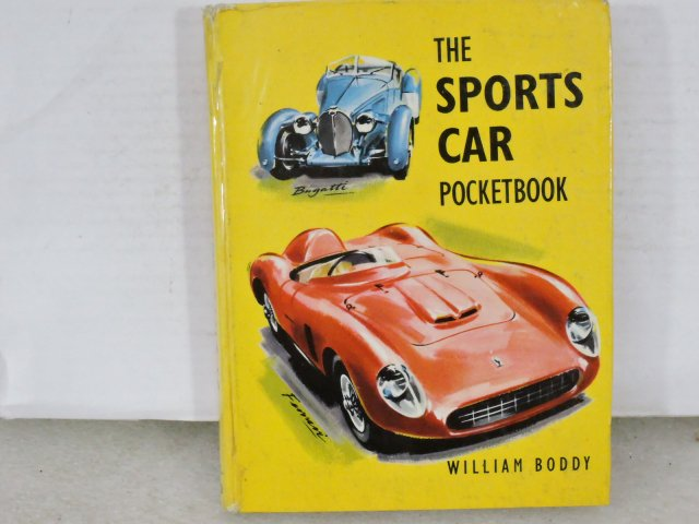 洋書 THE SPORTS CAR POCKETBOOK 1961初版 約11X14cm