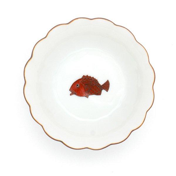 KUTANI SEAL/ 菊小鉢 鯛