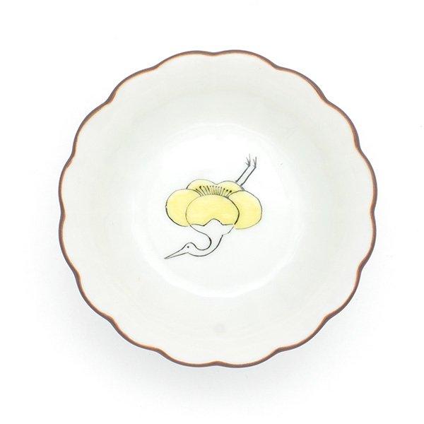 KUTANI SEAL/ 菊小鉢 梅鶴