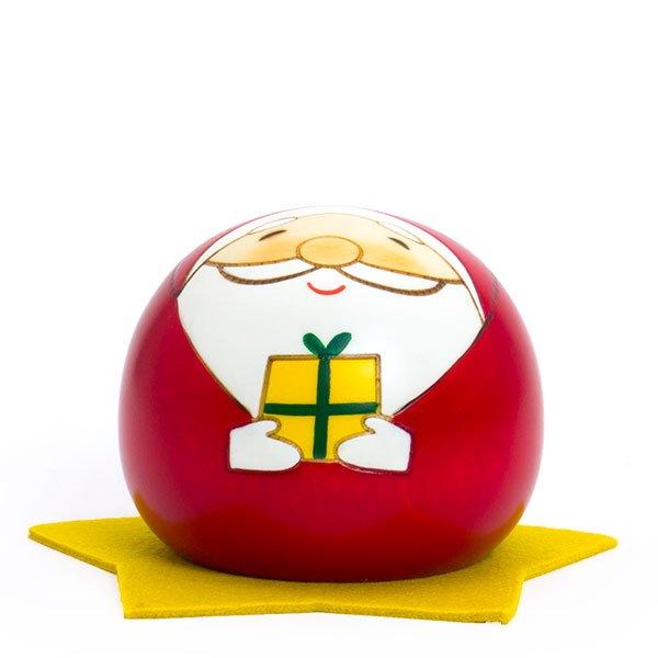 日本市/こけし飾りプレゼントサンタ(卯三郎こけし)