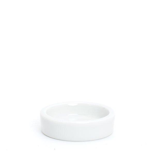 倉敷意匠/白磁丸トレイS