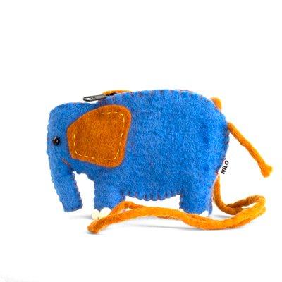 NILO/アニマルポーチ ゾウ(Animal Pouches ELEPHANT)