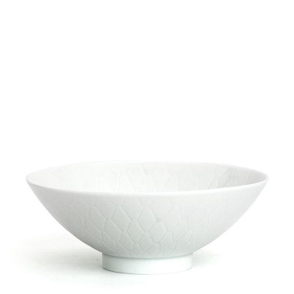 彫付「網茶碗」中(箱入り)
