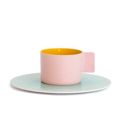 1616/arita japan/S&B コーヒーカップ(ピンク)