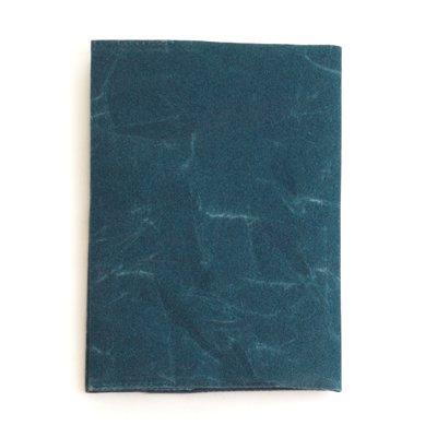 SIWA|紙和/ブックカバー 文庫本サイズ(ブルー)