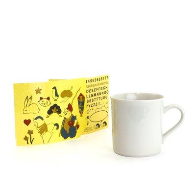 KUTANI SEAL /マグカップ クタニシールキット-β版 (恵比寿シールセット ベータ版)