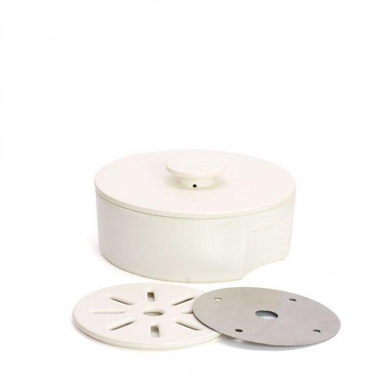 ceramic japan/do-nabe190 IH用プレートセット (ホワイト)