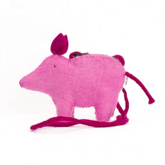 NILO/アニマルポーチ ブタ(Animal Pouches PIG)