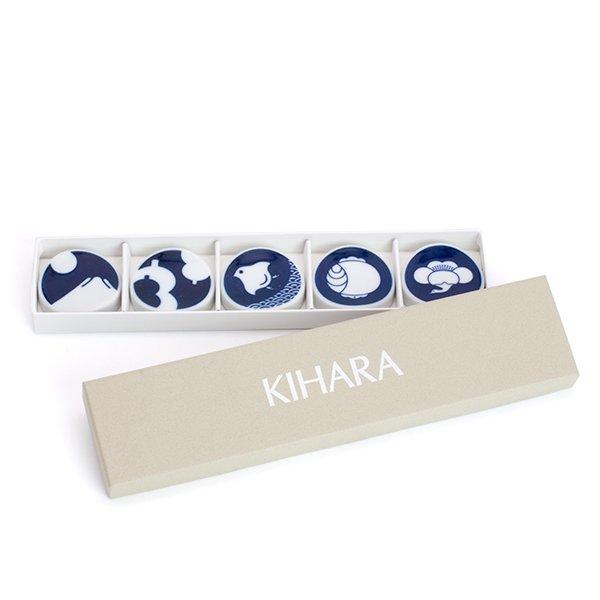 KIHARA/KOMON 箸置 5個セット(専用箱入り)