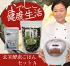 玄米酵素ごはんセットA(玄米酵素ブレンド500g + 天然塩50g)