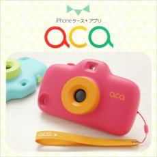 aca トイカメラ型iphone5/iphone5sケース