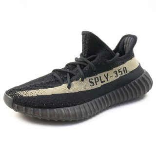 adidas アディダス YEEZY BOOST 350 V2 MADE BY KANYE WEST BY9611 スニーカー 黒 Size【25.5cm】 【中古品-良い】【中古】