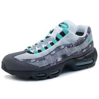 NIKE ナイキ AIR MAX 95 ATMOS WE LOVE NIKE CLEAR JADE AQ0925-001 スニーカー 黒灰 Size【27.0cm】 【新古品・未使用品】