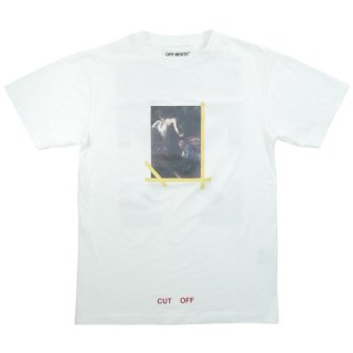 OFF WHITE オフホワイト 16AW NARCISO T-SHIRT Tシャツ 白 Size【XS】 【中古品-非常に良い】【中古】