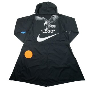 OFF WHITE オフホワイト ×NIKE Football Collection JACKET ジャケット 黒 Size【S】 【新古品・未使用品】