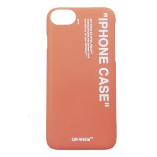 OFF WHITE オフホワイト 18AW QUOTE IPHONE 8 COVER アイフォン7/8用ケース 赤 Size【フリー】 【新古品・未使用品】