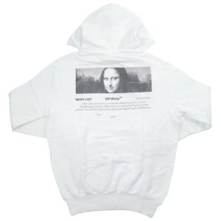 OFF WHITE オフホワイト 18AW For All 04 MONNALISA HOODIE モナリザスウェットパーカー 白 Size【M】 【新古品・未使用品】