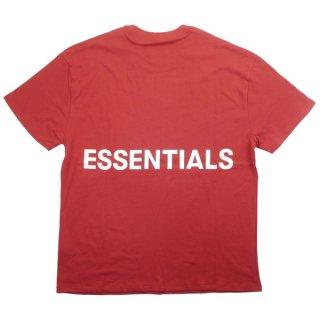 Fear of God フィアーオブゴッド Essentials Boxy Graphic T-Shirt Tシャツ 赤 Size【M】 【新古品・未使用品】