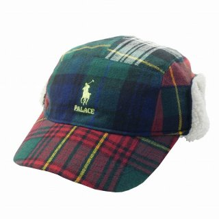 Palace Skateboards ×Polo Ralph Lauren 18AW RALPH LAUREN HUNTING CAP POLAR FLEECE キャップ