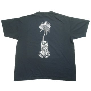 Wasted youth ×BOUNTY HUNTER バウンティーハンター×Babylon LA COMPLEX CON限定 LOGO TEE Tシャツ 黒 Size【L】 【新古品・未使用品】