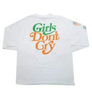Girls Dont Cry ガールズドントクライ ×Carrots By Anwar Carrots LOGO L/S ロンT 白 Size【S】 【新古品・未使用品】