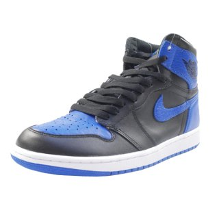 NIKE ナイキ NIKE ナイキ AIR JORDAN 1 RETRO HIGH OG ROYAL 555088-007 スニーカー 青黒 Size【26.5cm】 【新古品・未使用品】