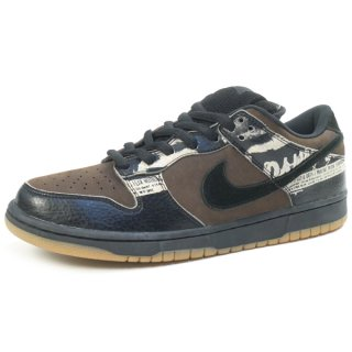 NIKE ナイキ 2002年 256足限定 DUNK LOW PRO SP ZOO YORK ズーヨーク 305162-201 スニーカー 茶黒 Size【28.5cm】 【新古品・未使用品】