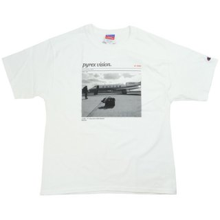 OFF WHITE オフホワイト Pyrex Vision×MCA Figures of Speech Pyrex Tee Tシャツ 白 Size【S】 【新古品・未使用品】
