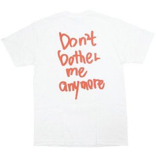 Wasted youth ウェイステッドユース Don't bother me anymore Tee Tシャツ 白赤 Size【L】 【新古品・未使用品】