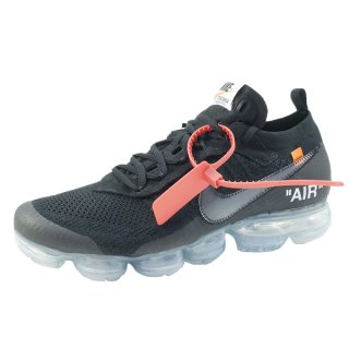 OFF WHITE オフホワイト ×NIKE THE 10 AIR VAPORMAX FK AA3831-002 スニーカー 黒 Size【29.0cm】 【新古品・未使用品】