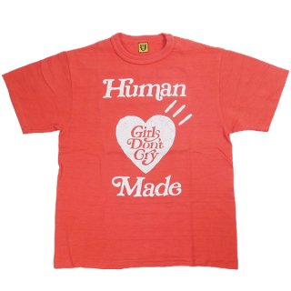 Girls Don't Cry ×HUMAN MADE 京都店OPEN限定 T-SHIRT Tシャツ 赤 Size【XXL】 【中古品-ほぼ新品】