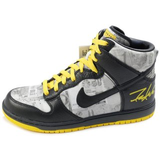 NIKE×FUTURA DUNK HIGH SUPREME TZ LAF LIVESTRONG 378127-001 2009年モデル【27.0cm】中古品-ほぼ新品