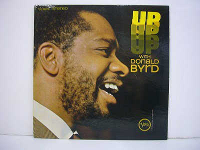 Byrd Donald Up With Donald Byrd Verve V6 8609 Stereo