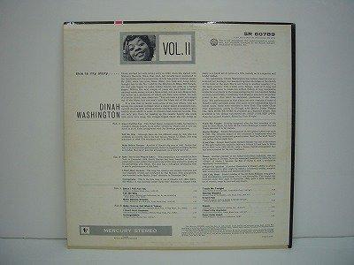 Washington Dinah This Is My Story Vol Two Mercury Sr
