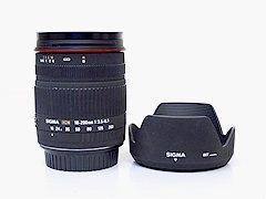 SIGMA シグマ ZOOM 18-200mm F3.5-6.3 DC 倍高倍率ズームレンズ キャノン用