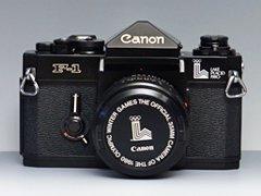 Canon F-1 オリンピックモデル