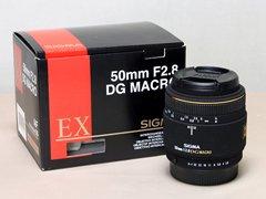 SIGMA MACRO 50mmF2.8 EX DG PENTAX AF